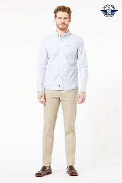 Cortefiel Dockers® SHIRTS - OXFORD Azul