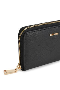 Cortefiel Plain coin purse Black
