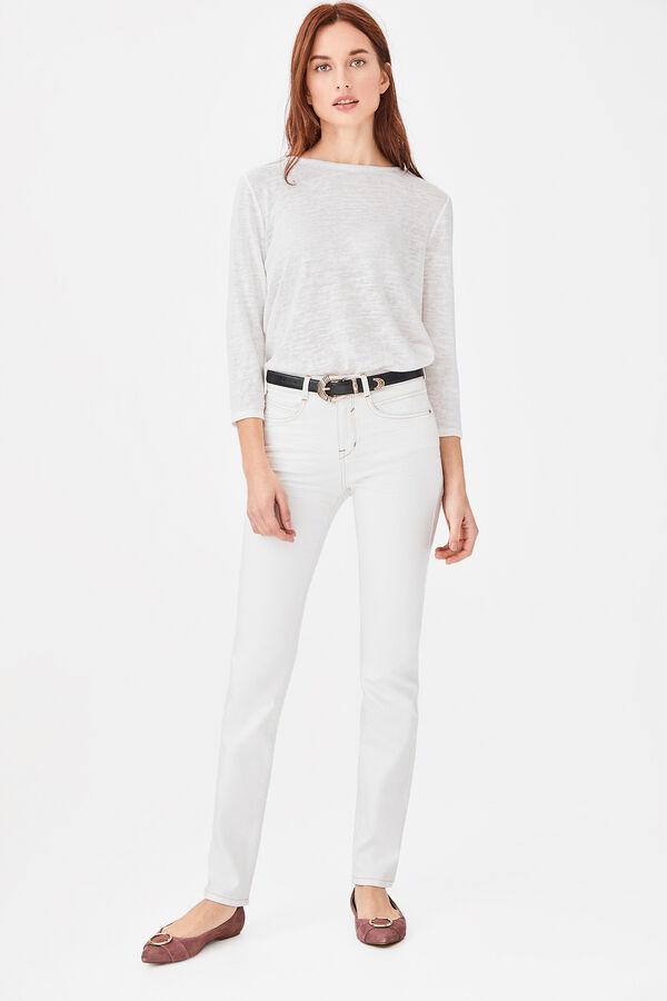 c95293d9d1 Cortefiel Jeans slim fit Blanco
