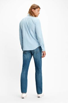 Cortefiel Classic slim fit Levi's® shirt Light blue