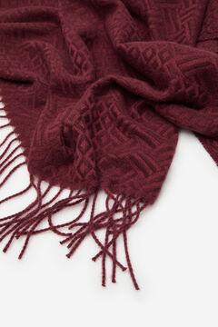 Cortefiel Jacquard scarf Purpura