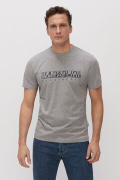 Cortefiel Camiseta SALLAR SS manga corta Napapijri Gris