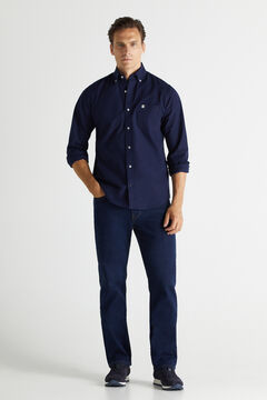 Cortefiel Jeans classic desbotados Azul
