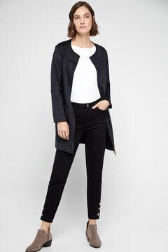 Cortefiel Frock coat Black