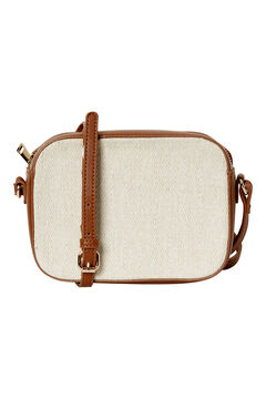 Cortefiel Shoulder bag Stone