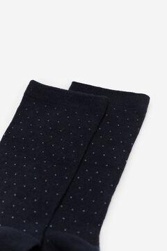 Cortefiel Mini polka-dot socks Navy