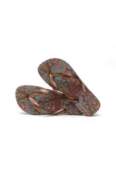Cortefiel SPRING flip-flops Tobaco