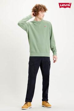 Cortefiel Fleece Levi's® round neck sweatshirt Dark gray