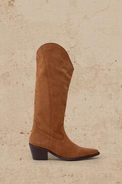 Cortefiel Bota Cowboy Marrón