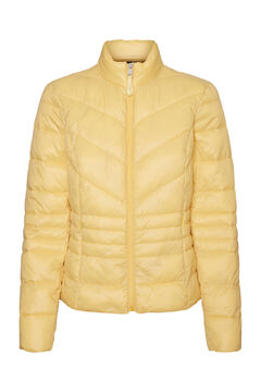 Cortefiel Padded jacket Yellow