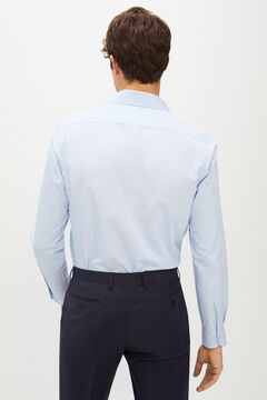 Cortefiel Camisa de vestir Coolmax Ecomade® tailored fit Azul