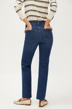 Cortefiel Jeans straight fit Azul