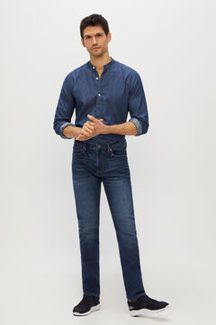 Cortefiel Slim COOLMAX ECOMADE ALL SEASON® jeans Blue jeans