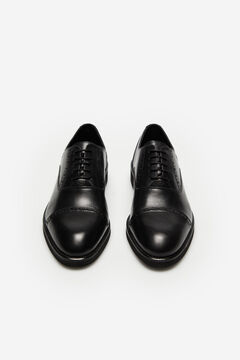 Cortefiel Rubber sole dress shoe Black