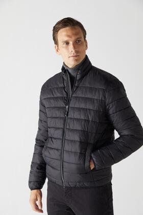 Cortefiel Ultralight thermolite jacket Black