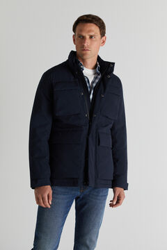 Cortefiel Jacket with four pockets Navy