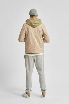 Cortefiel Jacket with pockets Gray