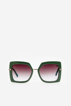 Cortefiel  Gafas de sol FAME Starlite Pistachiogreen