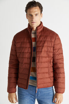 Cortefiel Ultralight thermolite jacket Red