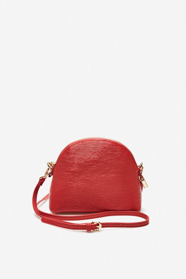 033d8978d Cortefiel Bolso bandolera textura Rojo
