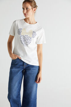 Cortefiel Disney T-shirt White