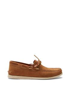 Cortefiel Rubber sole boat shoe Mole