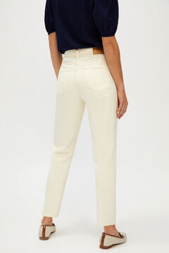Cortefiel Mom fit jeans White