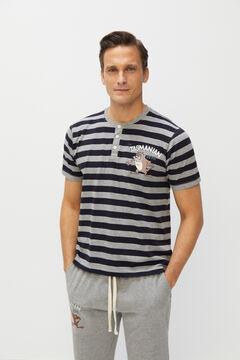 Cortefiel Jersey-knit Looney Tunes pyjamas Gray