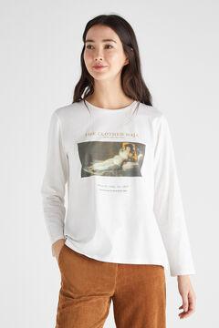 Cortefiel Museo del Prado special bicentenary t-shirt White
