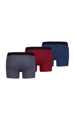 Cortefiel 3-pack Levi's® striped boxers gift box Turquoise