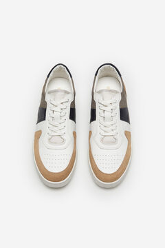 Cortefiel Lace-up sneaker White