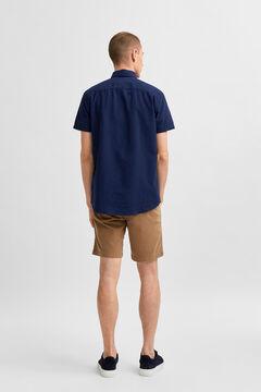 Cortefiel Plain shirt Turquoise