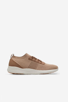 Cortefiel Ultralight lace-up trainer Pink