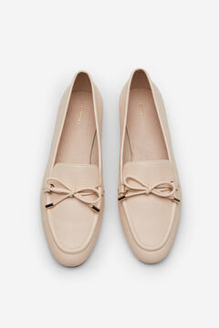 Cortefiel Soft loafer Pink