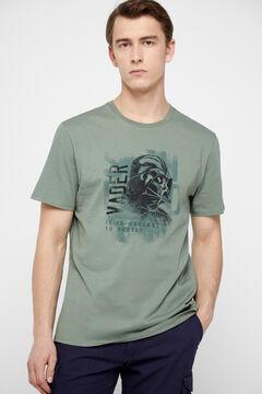 Cortefiel Star Wars short-sleeved t-shirt Pistachiogreen