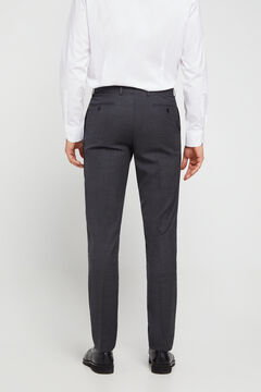 Cortefiel Grey slim fit trousers Gray