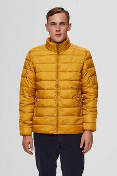 Cortefiel Sustainable quilted jacket Pistachiogreen