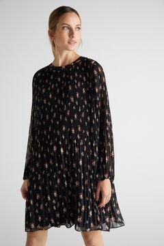 Cortefiel Short comfort dress Gray