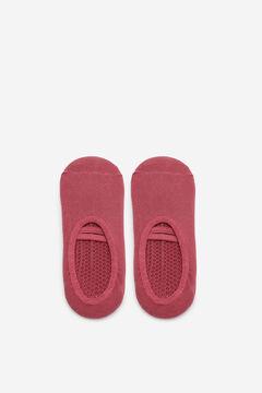Cortefiel Pilates no-show socks Purpura