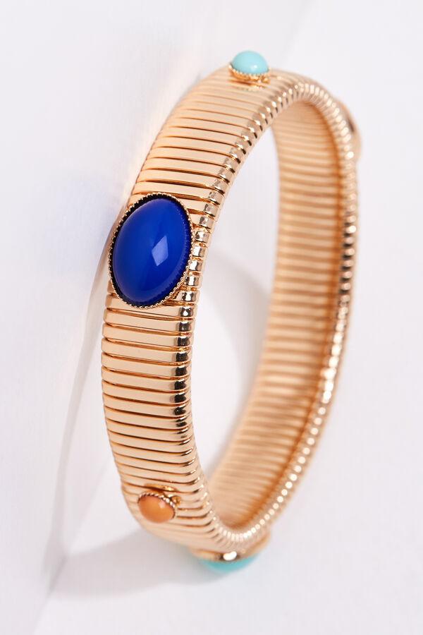698551f69d Cortefiel Golden bead bracelet Yellow