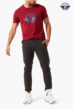 Cortefiel SMART 360 FLEX ALPHA Dockers® SKINNY Dark gray