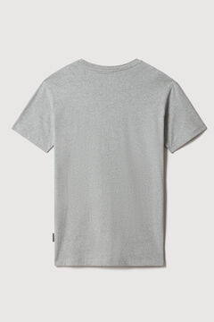 Cortefiel Napapijri S-BOX SS short-sleeved T-shirt Gray