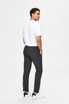 Cortefiel Classic straight trousers  Dark brown