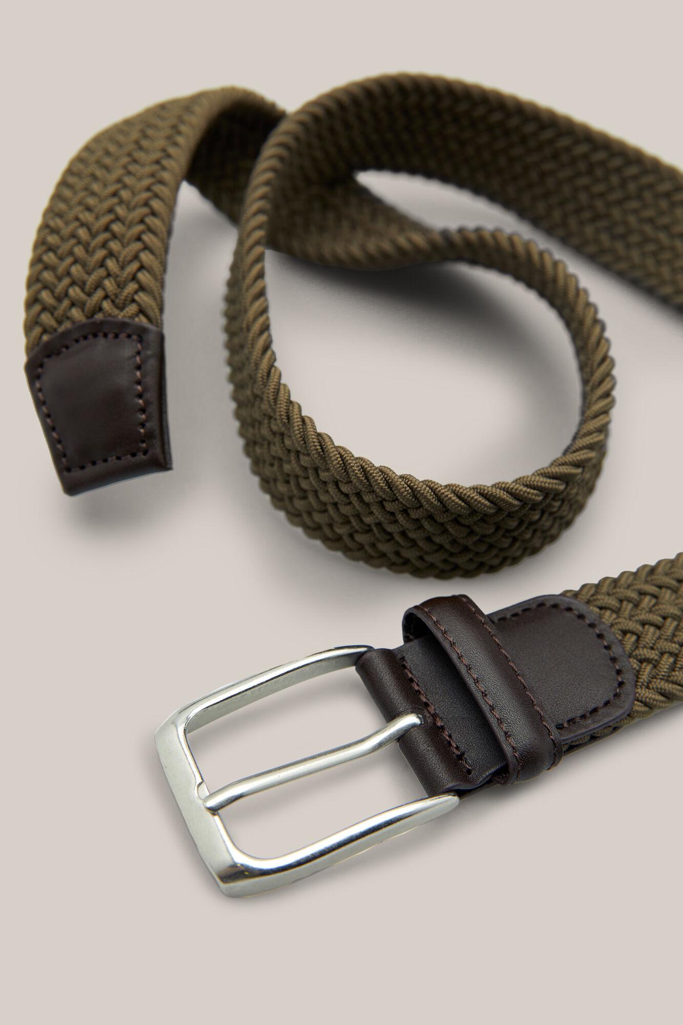 Cinturón trenzado textil  9d55e68590a3