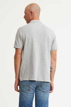 Cortefiel Polo Levi's® logo chest Gray
