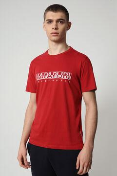 Cortefiel Camiseta SALLAR SS manga corta Napapijri Rojo
