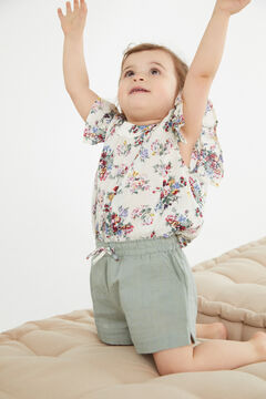 Cortefiel Pyjama shorts for girls Stone