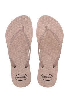 Cortefiel SLIM GLOSS kids flip-flops Pink