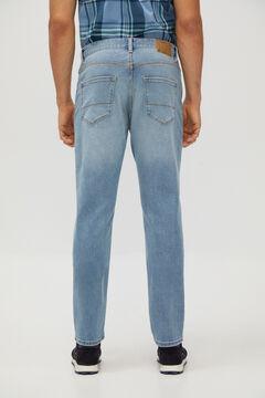 Cortefiel Classic light wash jeans Light blue