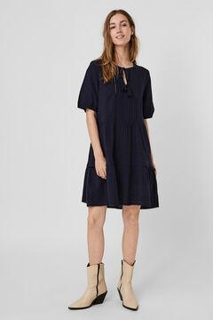 Cortefiel Vestido midi Azul